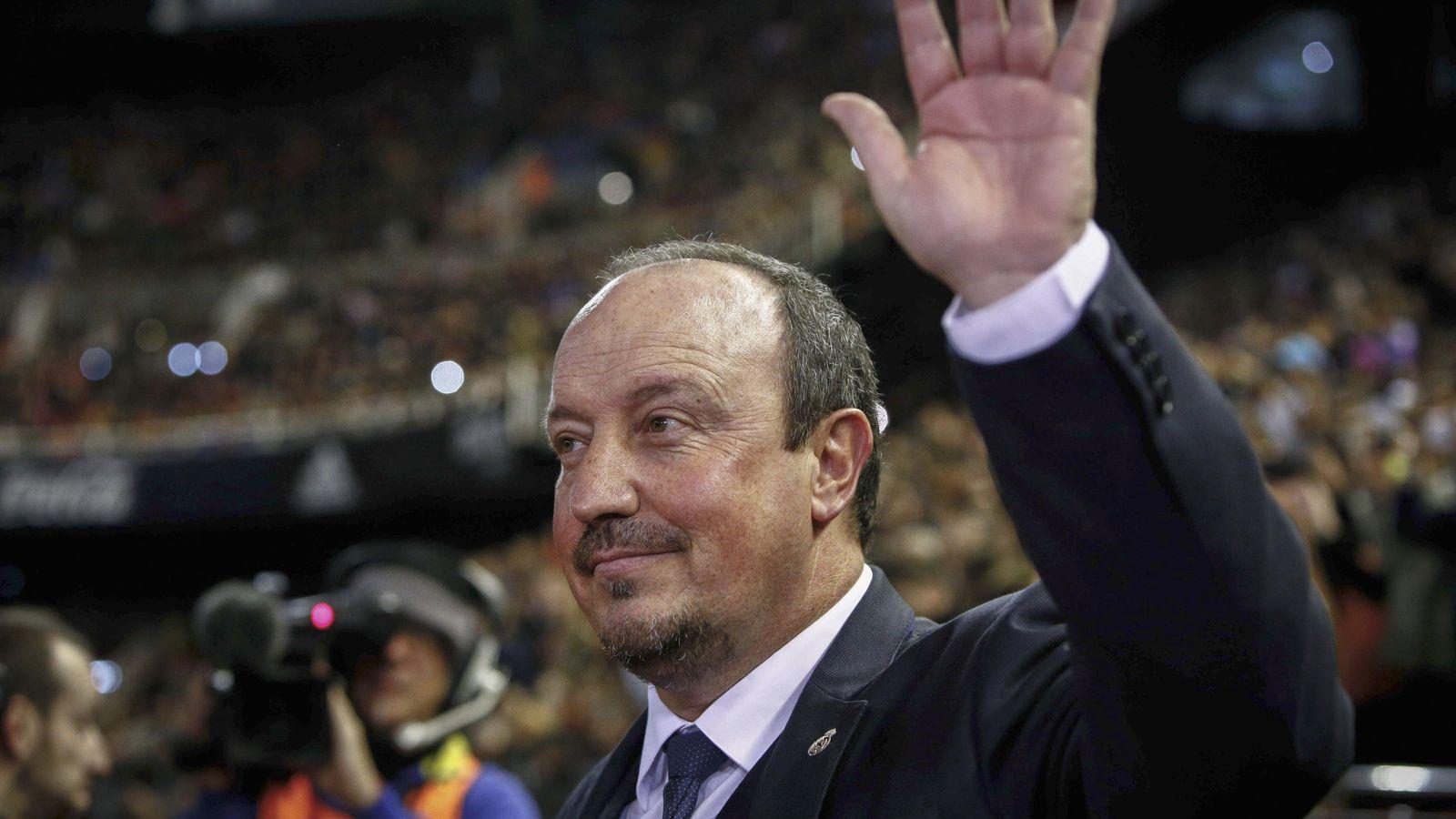 Foto: Rafa Benítez fue despedido como entrenador del Real Madrid. (EFE)