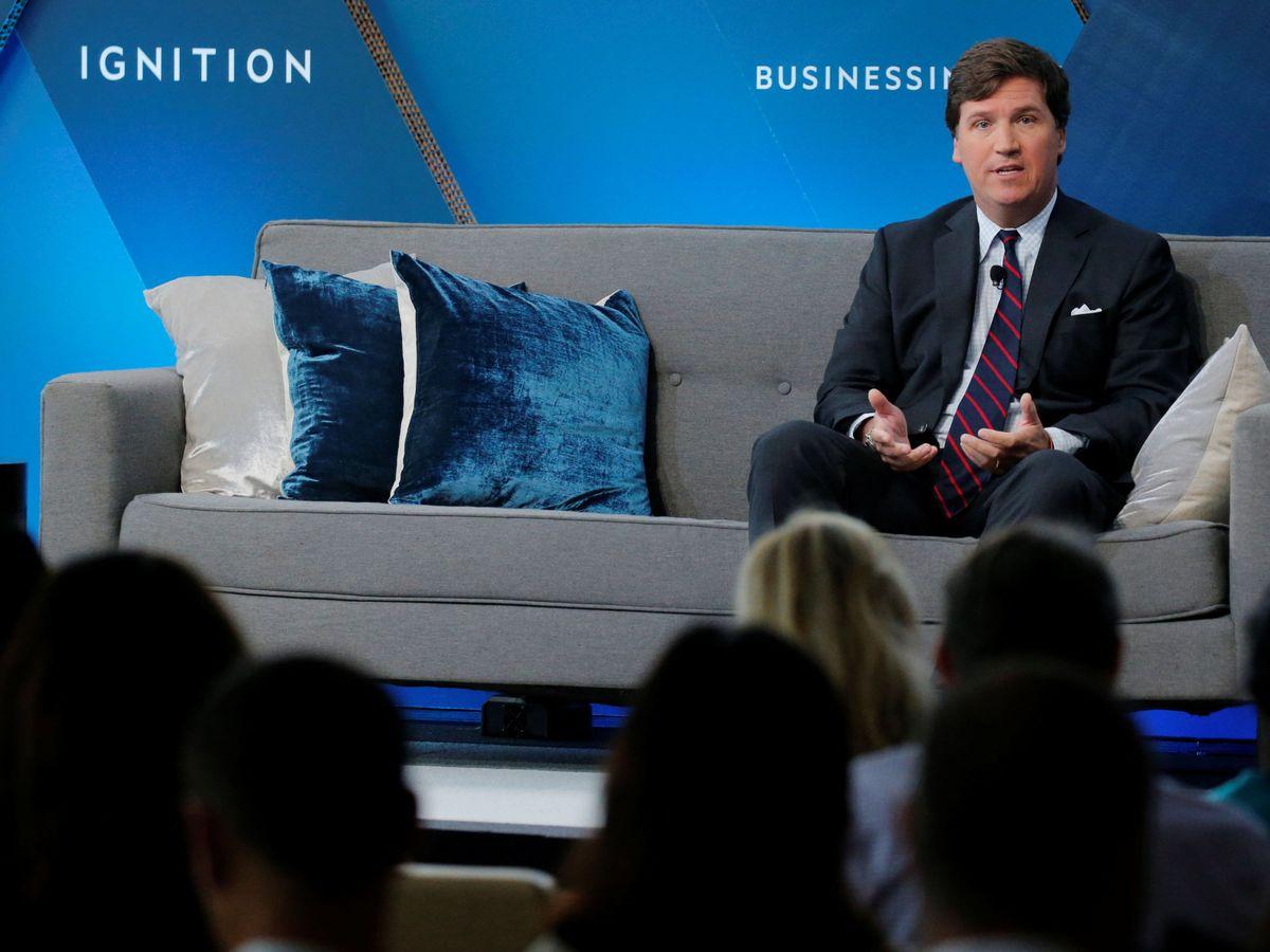 Foto: Tucker Carlson, uno de los principales presentadores de la Fox. (Reuters)