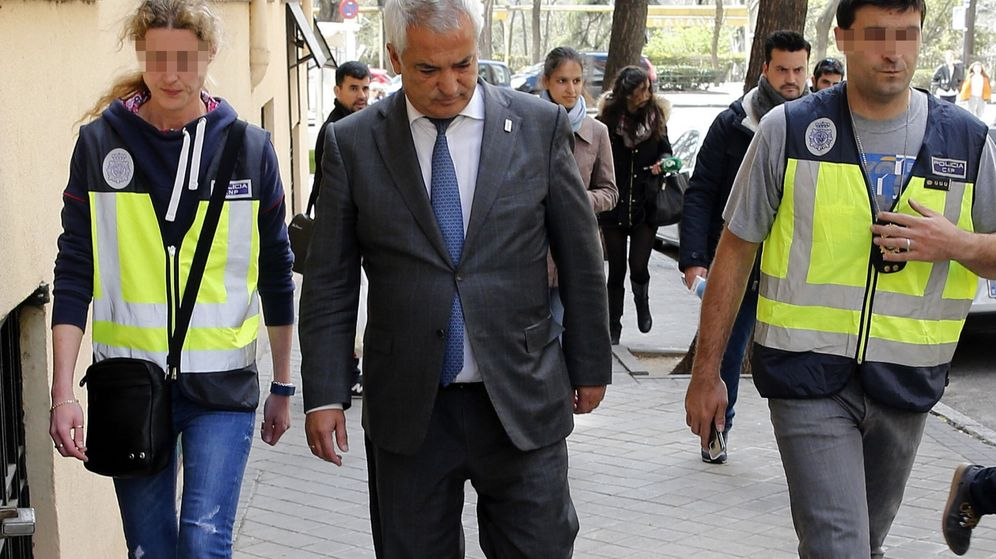 Foto: Detenido el presidente de Ausbanc, Luis Pineda. (EFE)