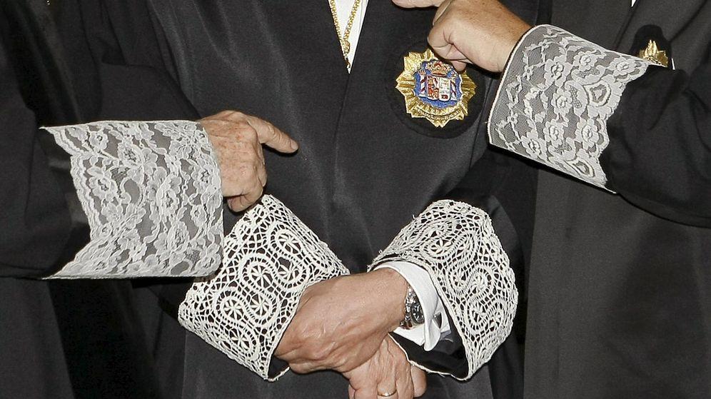 Foto: Imagen de archivo de varios jueces. (EFE)