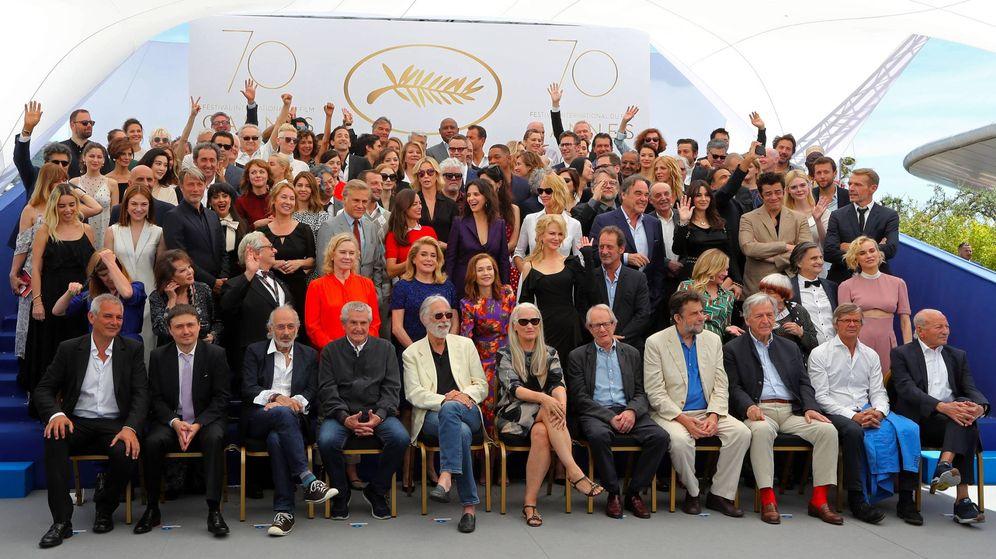 Foto: Foto de familia en el pasado Festival de Cannes