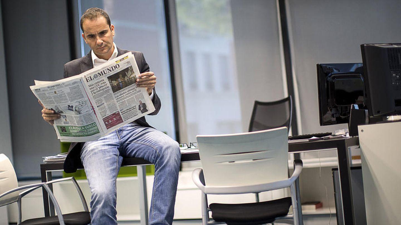 El ya exdirector del diario 'El Mundo' David Jiménez. (EFE)
