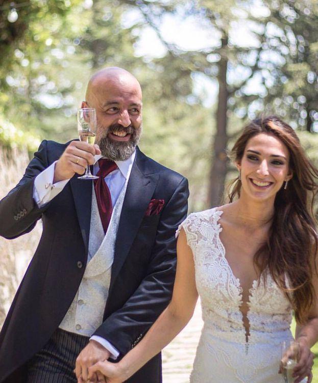 Foto: Goyo Jiménez y su esposa, Paloma Mefer (Facebook)