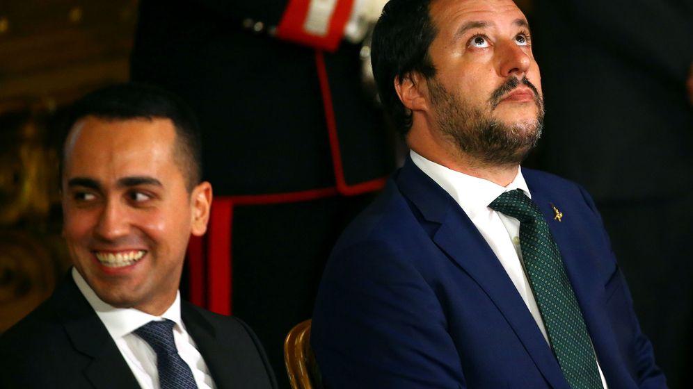 Foto: Salvini y Di Maio han sorprendido a todos con su golpe sobre la mesa (REUTERS)