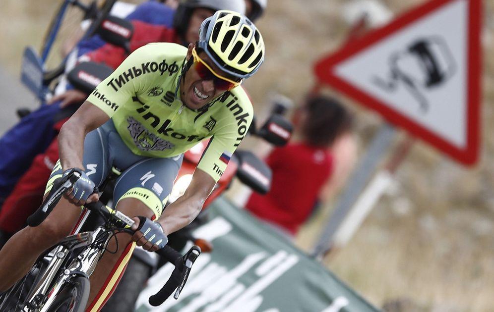 Foto: Contador hizo una etapa descomunal. (Javier Lizón/EFE)