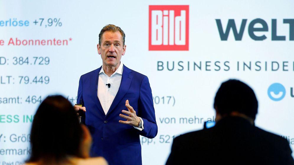 Foto: El CEO de Axel Springer, Mathias Doepfner (Reuters)