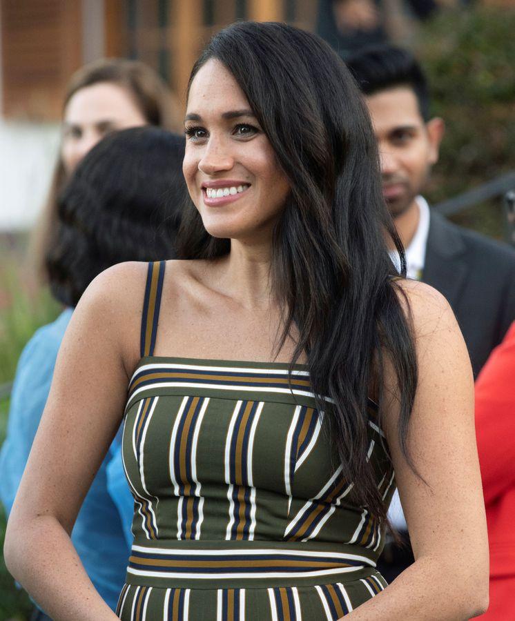 Foto: Meghan Markle, durante su estancia en Ciudad del Cabo. (Reuters)