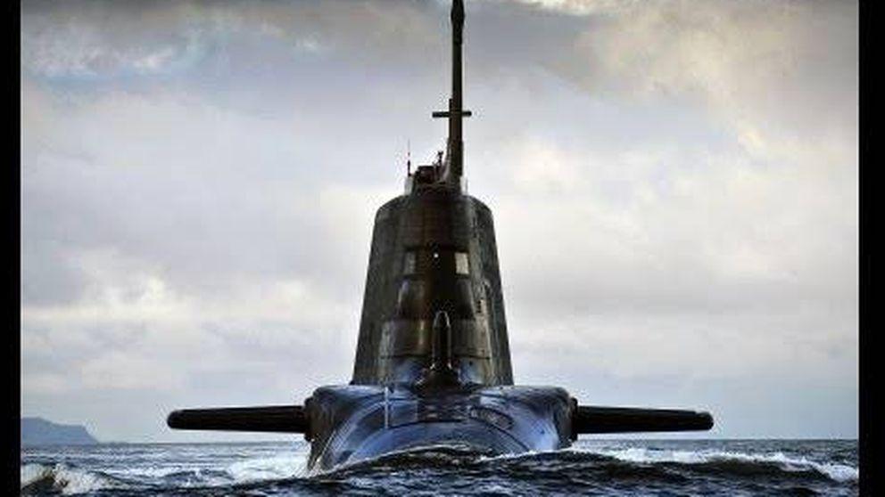 El 'HMS Ambush' se muestra en movimiento.