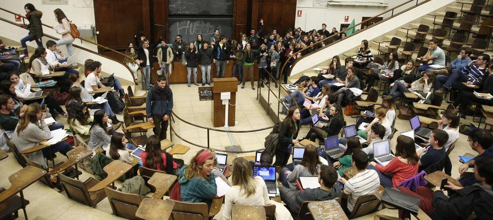 Foto: Estudiantes de la Universidad Complutense. (EFE)