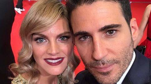 El bonito reencuentro de Miguel Ángel y Amaia Salamanca, en los Premios Platino