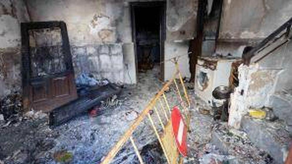 Foto: Imagen del interior de la vivienda de Archena. Foto: Efe