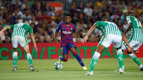El debut de Ansu Fati en el Barcelona con solo 16 años