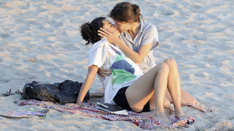 La expareja en playas de Menorca en agosto de 2011 (Gtres)