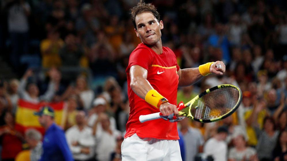 Foto: Rafa Nadal lidera a España en la ATP Cup. (Reuters)