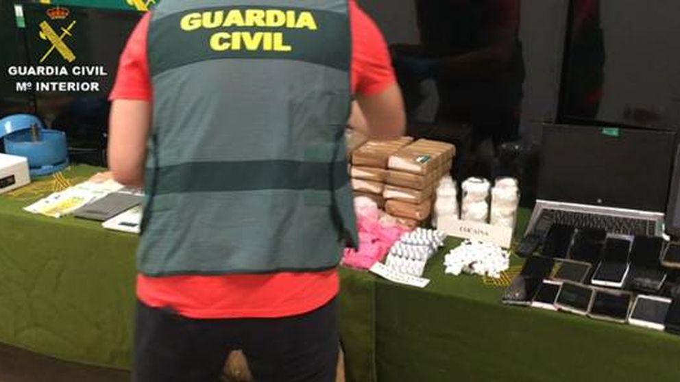 Cae una red que traficaba con 'Pantera Rosa', una agresiva y costosa droga