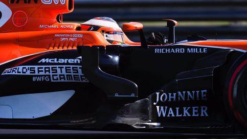 El McLaren de Vandoorne se queda a 88 milésimas de Ferrari