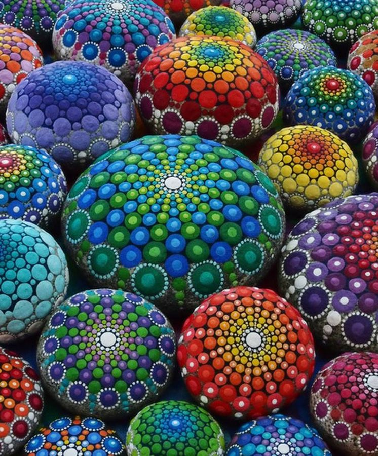 Mandalas relajaci n y meditaci n a base de c rculos y colores - Colores para mandalas ...