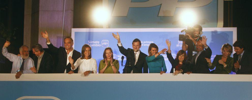 ...Y la crisis tumbó la euforia: dos años de la foto del balcón triunfal de Génova