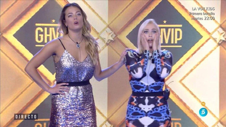 La catastrófica reacción de Aly y Daniela al saber que la final de 'GH VIP' será el jueves