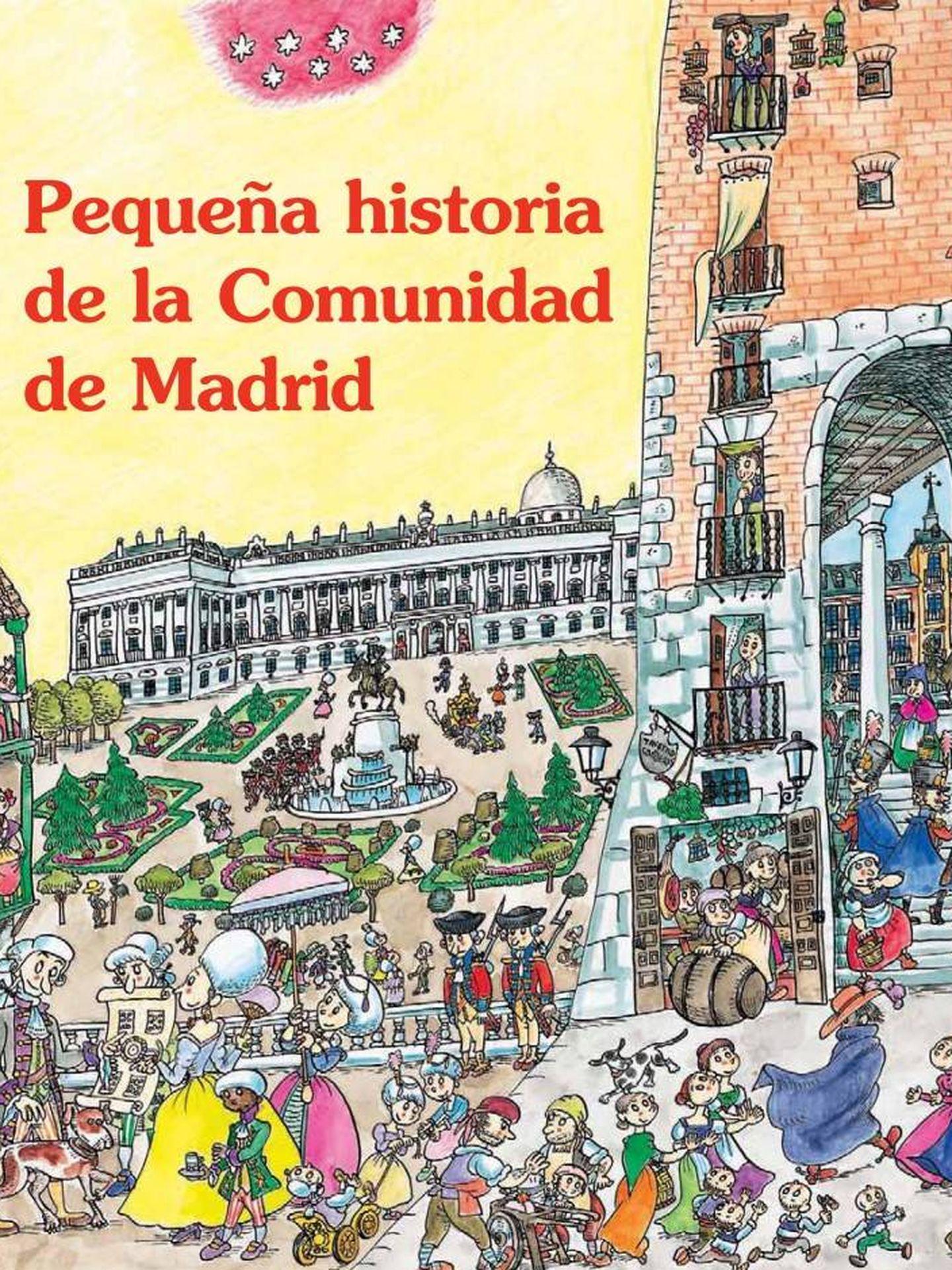 Libro ilustrado por Pilarín Bayés sobre la historia de la comunidad madrileña.