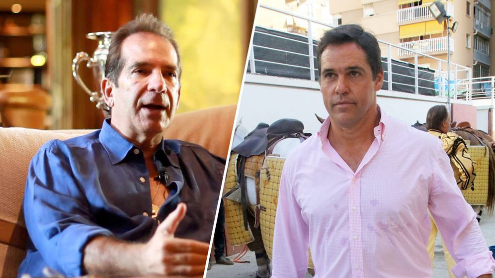 Foto: Víctor Vargas (izquierda) y Luis Alfonso de Borbón.