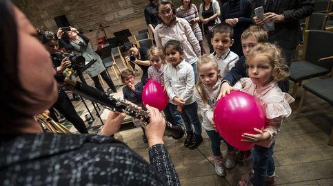 Música clásica para niños y crisis de agua potable en Río: el día en fotos