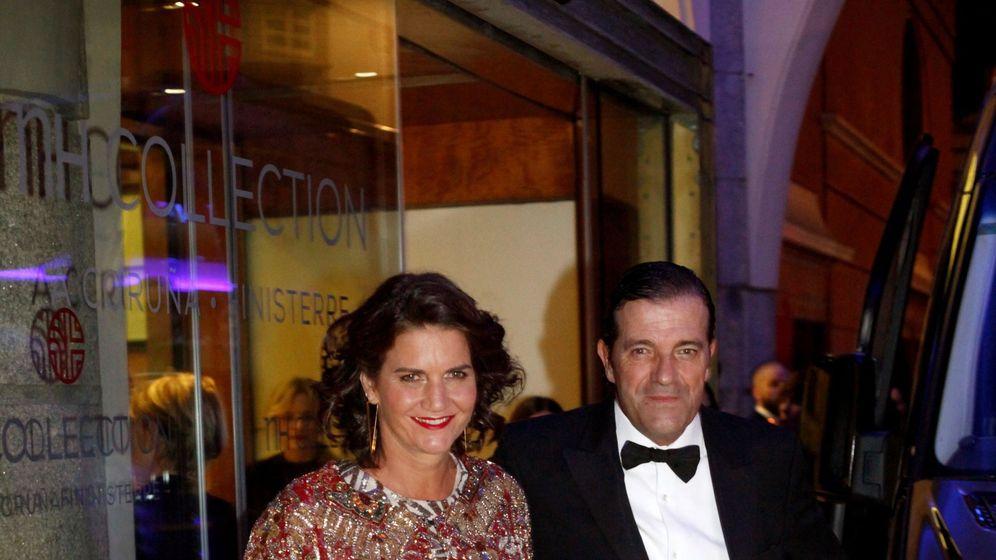 Foto: La jurado de MasterChef y su marido. (EFE)