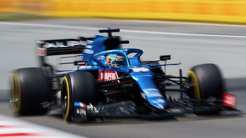 Fernando Alonso, o cuando un 'latigazo' antes de empezar la vuelta ya te la arruina