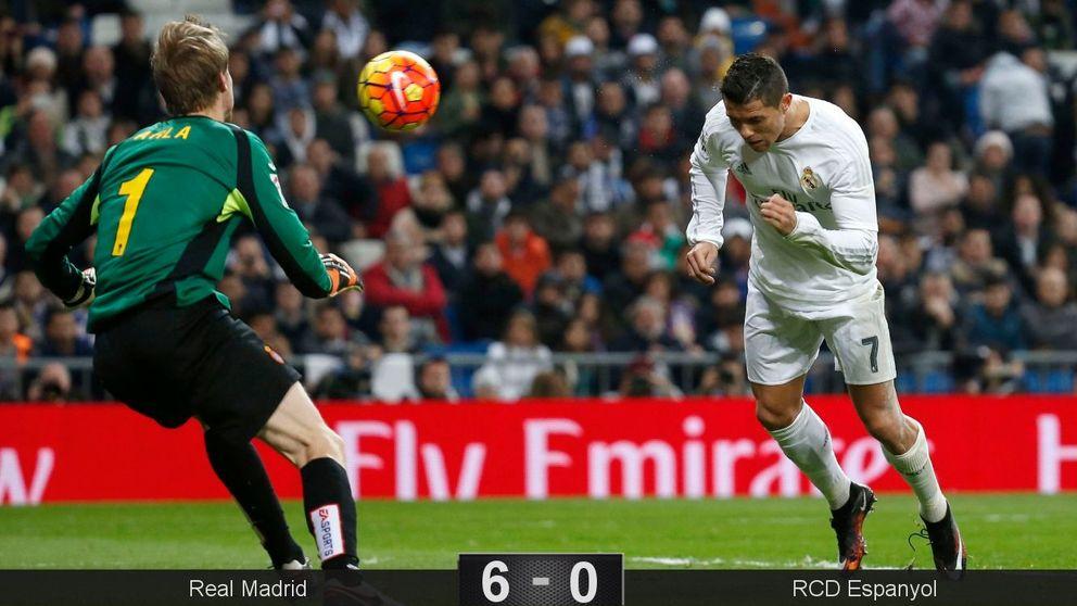 Ni el multimillonario Chen cambia la triste historia del Espanyol en el Bernabéu