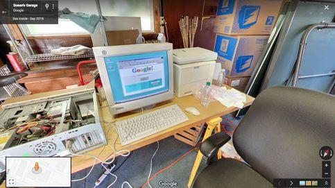 Google permite visitar el garaje donde nació hace veinte años usando Street View
