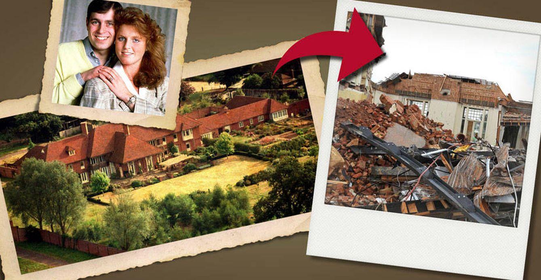 Foto: La casa en ruinas de Fergie y el príncipe Andrés (Vanitatis)