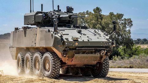 Indra equipará los VCR 8x8 del Ejército con un sistema de misión por más de 150 M