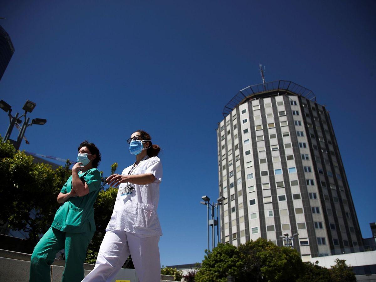 Foto: La Paz, el hospital público con mejor reputación de España, según el MRS. (EFE / David Fernández)