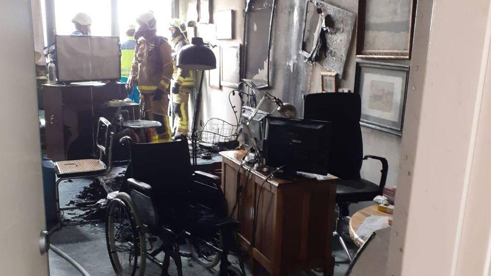 Muere un hombre de 77 años por el incendio de su vivienda en Leganés (Madrid)