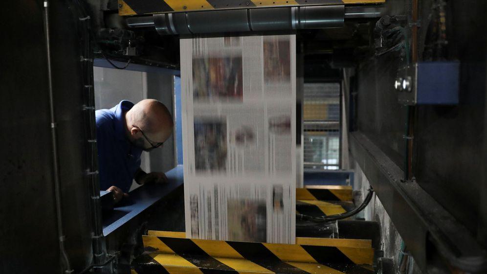 Foto: Imagen de archivo de una planta de impresión de periódicos. (Reuters)
