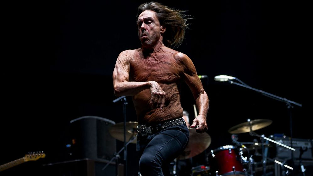 Foto: Iggy Pop en el Super Rock Festival de 2016