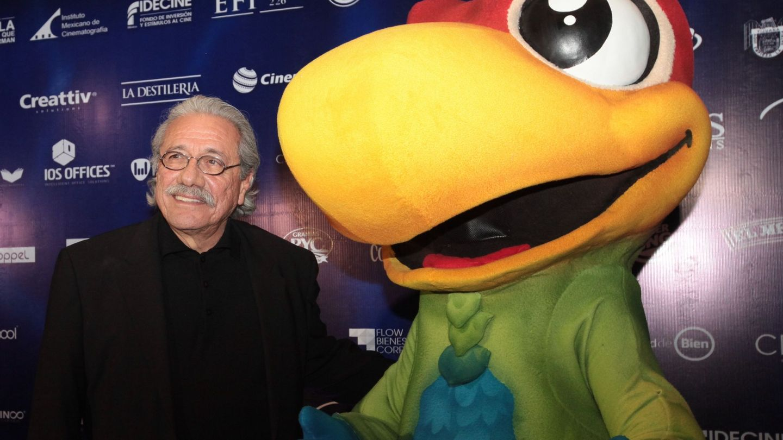 Edward James Olmos, en el estreno en México de 'El americano, the movie'. (EFE)