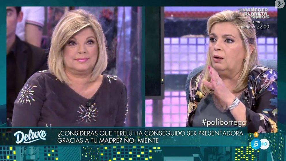 La puñalada que Terelu no esperaba: Carmen piensa que es presentadora gracias a su madre