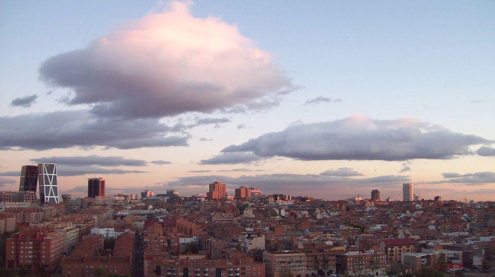 Foto: Panorámica del distrito de Tetuán (Madrid)