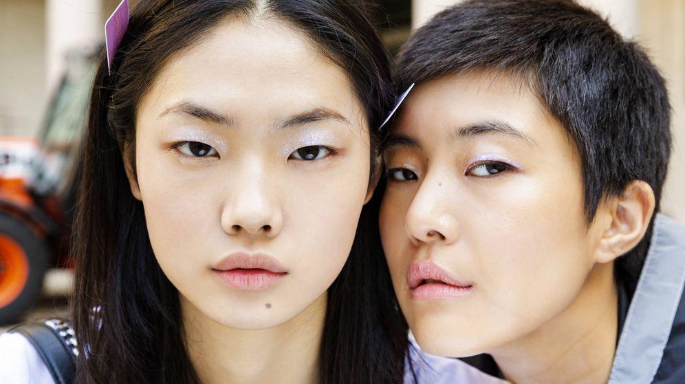 Foto: Lo que la protección solar para labios puede hacer (Backstage de Blumarine S-19 - Imaxtree)
