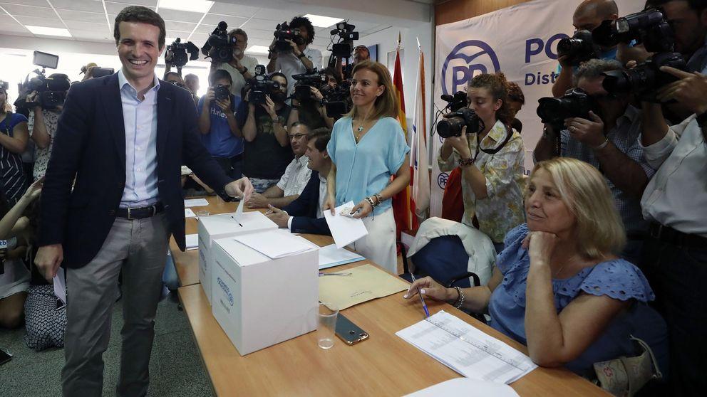 Las primarias del Partido Popular, en imágenes