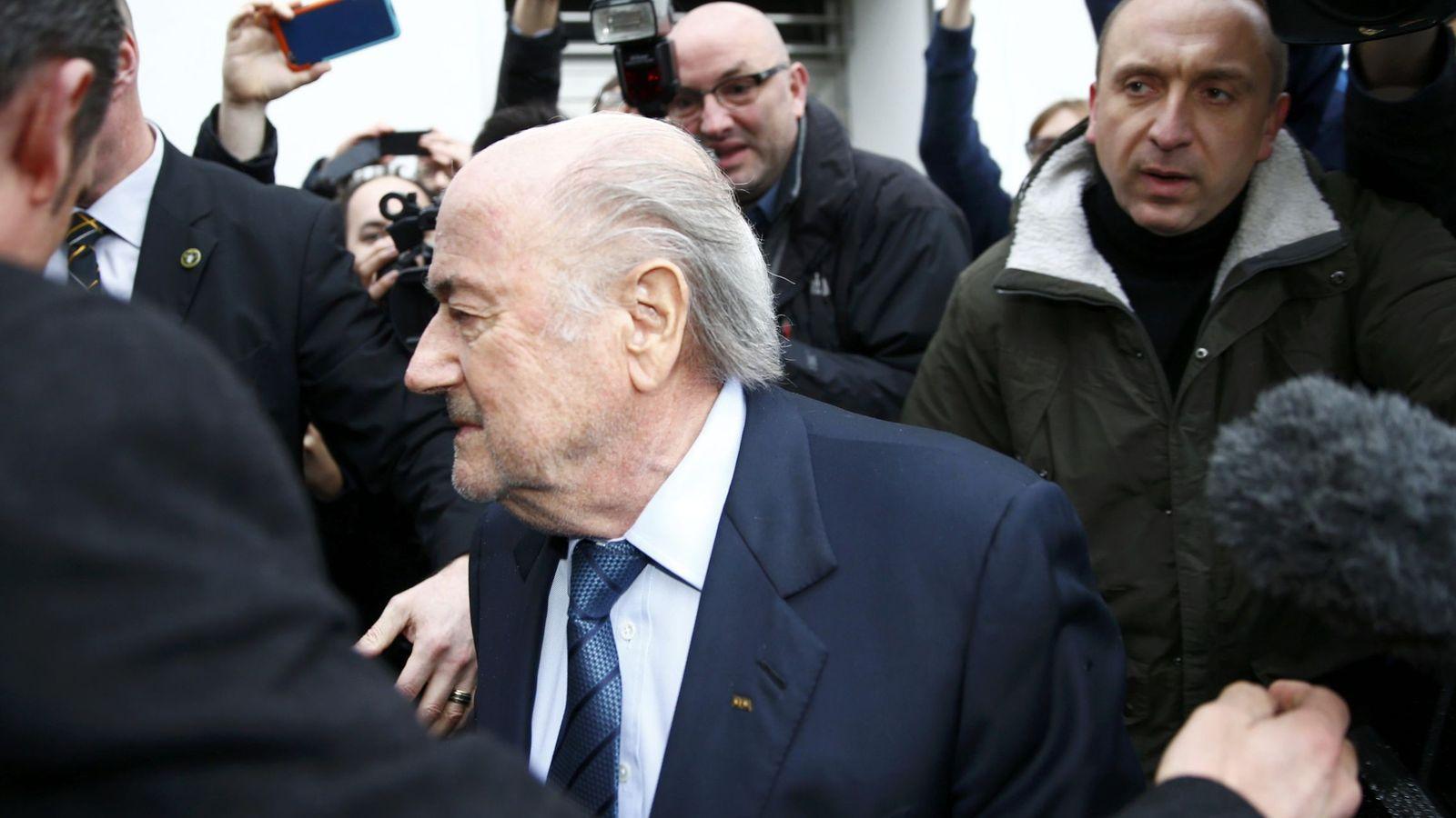Foto: Joseph Blatter, días después de ser inhabilitado (Reuters)