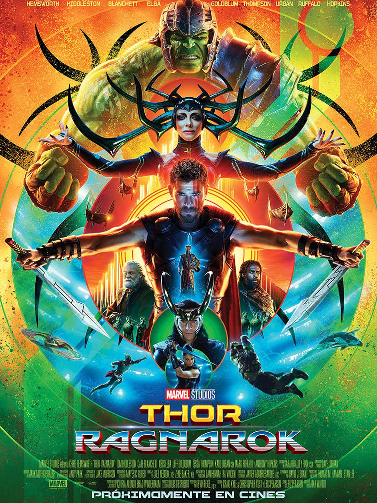 Cartel de 'Thor: Ragnarok'.