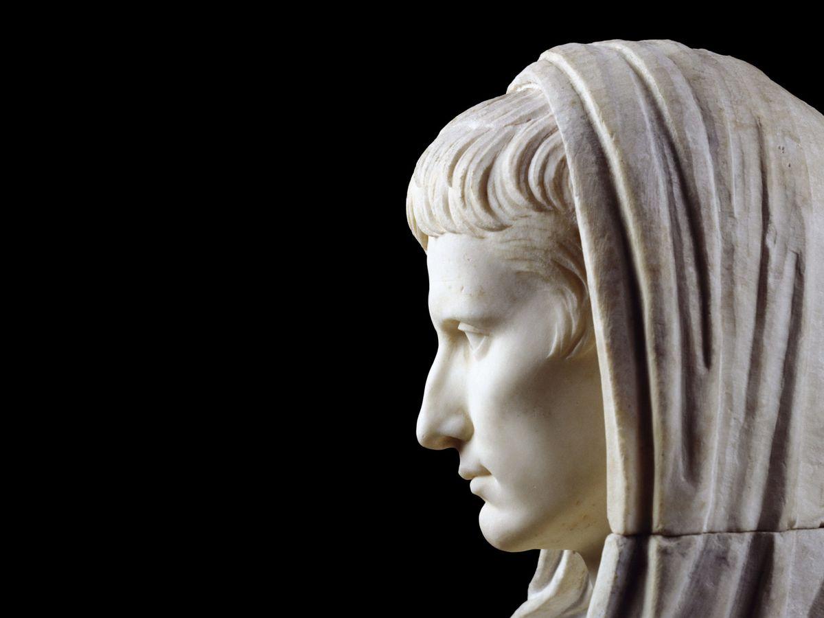 Foto: Statua di Augusto al Museo Nazionale di Roma.  (EFE)