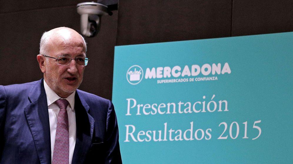 Foto: Juan Roig presenta los resultados de 2015.