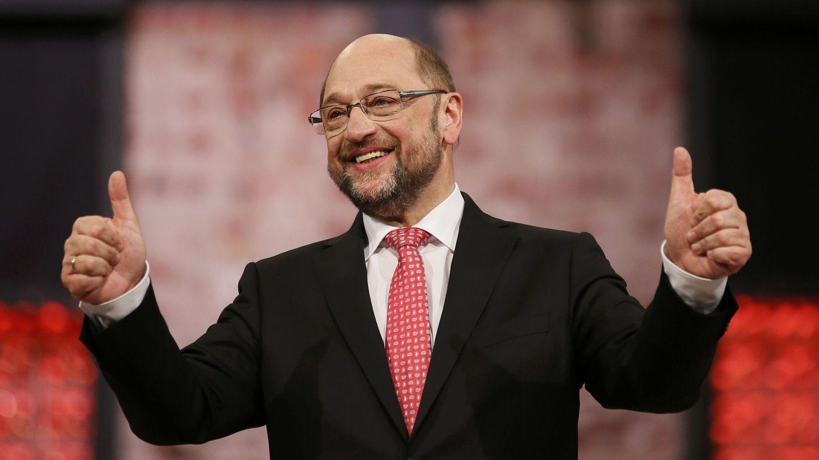 Foto: El recién elegido líder del Partido Socialdemócrata Alemán (SPD), Martin Schulz. (Reuters)