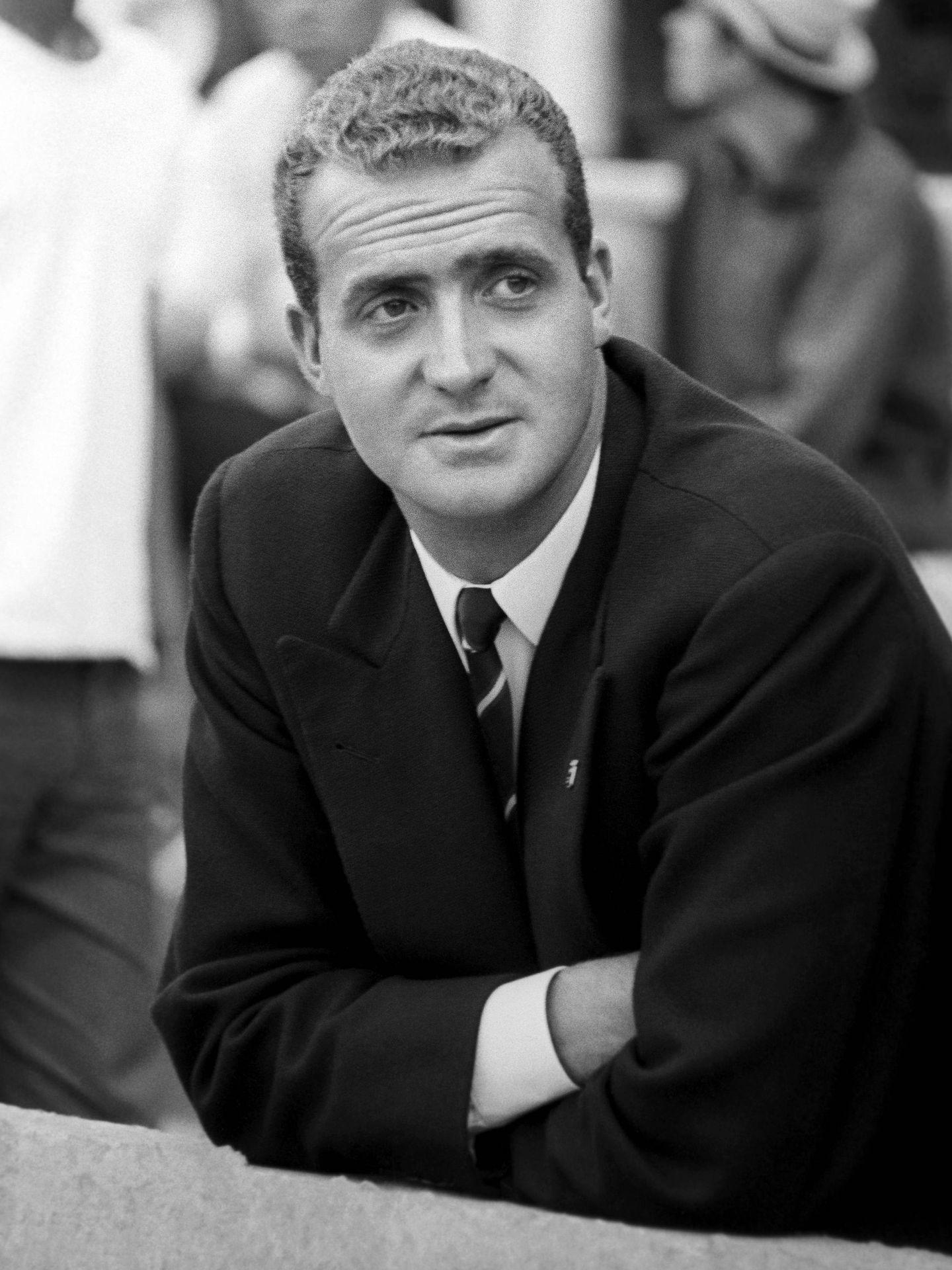 Fotografía tomada el 14 de septiembre de 1967 del entonces príncipe Juan Carlos. (EFE)