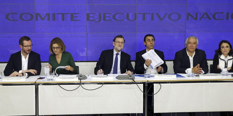 Eeunión del Comité Ejecutivo Nacional del PP. (EFE)
