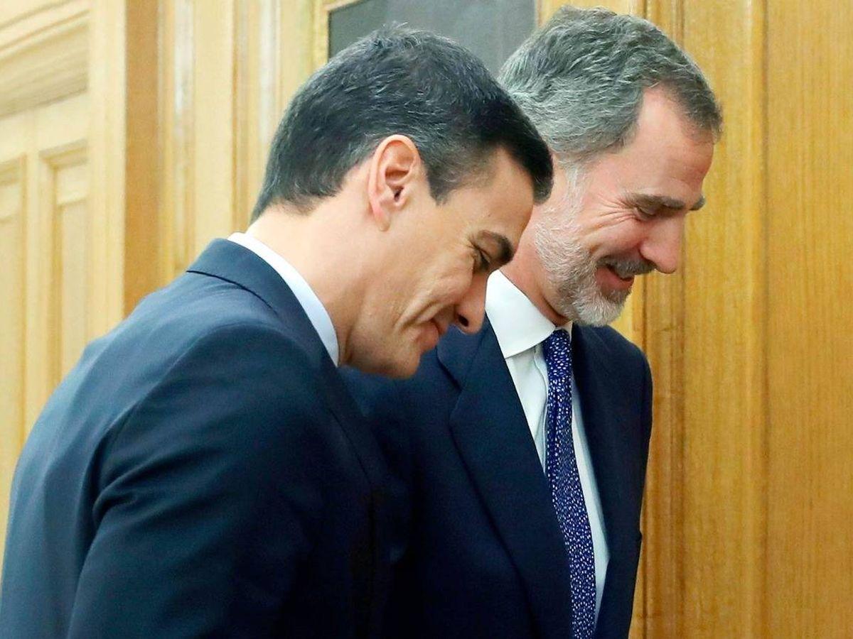 Foto: Pedro Sánchez y el rey Felipe. (Getty)