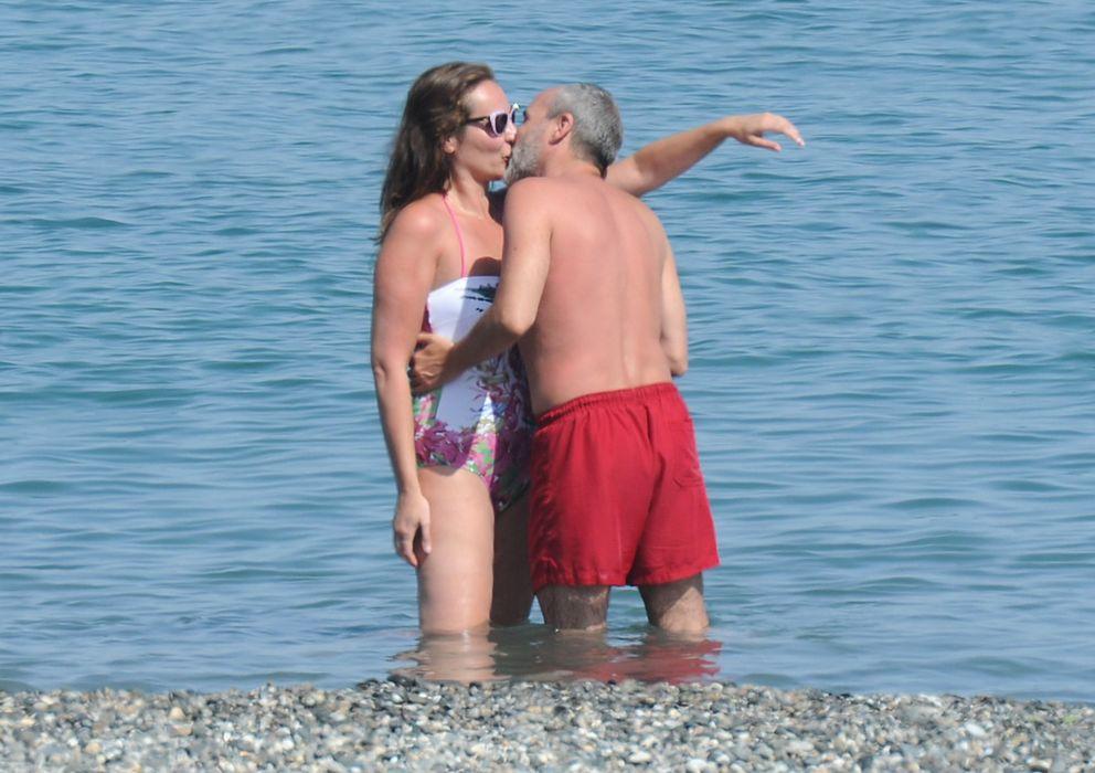 Foto: Ana Milán y Fernando Guillén Cuervo en Marbella el pasado verano (Gtres)